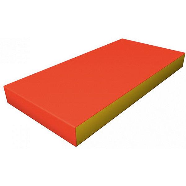 Гимнастический мат Romana Kid мягкий, желто-оранжевыйСпортивные коврики<br>Характеристики товара:<br><br>• возраст: от 3 лет;<br>• размер щита: 100х50х6 см;<br>• размер упаковки: 101х51х7 см;<br>• вес упаковки: 1,2 кг;<br>• страна производитель: Россия.<br><br>Мягкий щит Romana оранжевый/желтый — мягкий коврик как для самостоятельного использования и упражнений, так и вместе со спортивными комплексами Romana. Мягкий щит смягчает удар в случае падения ребенка.<br><br>Мягкий щит Romana оранжевый/желтый можно приобрести в нашем интернет-магазине.<br>Ширина мм: 1000; Глубина мм: 500; Высота мм: 60; Вес г: 1200; Возраст от месяцев: 36; Возраст до месяцев: 2147483647; Пол: Унисекс; Возраст: Детский; SKU: 7479624;