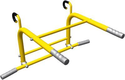 Турник-брусья 2 в 1 Romana, желтый, артикул:7479636 - Шведские стенки