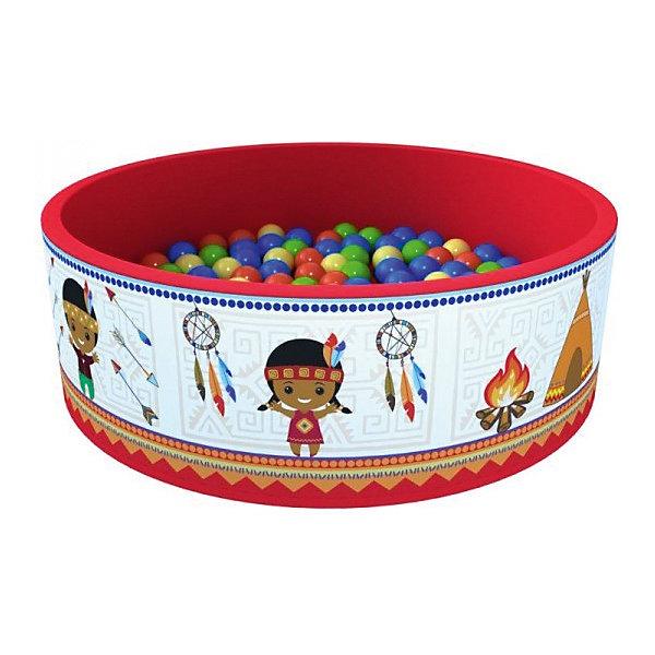 Сухой бассейн Romana Индейцы + 100 шариковБассейны<br>Характеристики товара:<br><br>• возраст: от 3 лет;<br>• материал: пластик, поролон;<br>• в комплекте: бассейн, 100 шариков;<br>• размер бассейна: 100х100х33 см;<br>• толщина стенки: 3 см;<br>• размер упаковки: 70х35х36 см;<br>• вес упаковки: 3,65 кг;<br>• страна производитель: Россия.<br><br>Сухой бассейн с шариками «Индейцы» Romana — бассейн для увлекательных игр. Бассейн подойдет как для использования дома, так и на свежем воздухе. Благодаря небольшим габаритам он не занимает много места дома. Сам бассейн выполнен из материала, который легко чистится. Шарики выполнены из качественного безопасного пластика.<br><br>Сухой бассейн с шариками «Индейцы» Romana можно приобрести в нашем интернет-магазине.<br>Ширина мм: 700; Глубина мм: 350; Высота мм: 360; Вес г: 4000; Возраст от месяцев: 36; Возраст до месяцев: 2147483647; Пол: Унисекс; Возраст: Детский; SKU: 7479644;