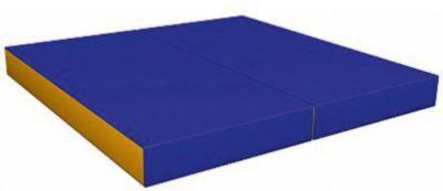 Гимнастический мат Romana  Kid  складной, желто-голубой, артикул:7479698 - Спортивные коврики