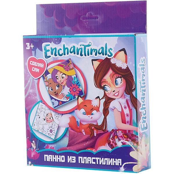 Панно из пластилина Centrum Enchantimals, 10 цветов + стекКартины из пластилина<br>Характеристики:<br><br>• набор для творчества;<br>• панно из пластилина;<br>• нанесение пластилина на белые участки;<br>• возможность создания объемный аппликации;<br>• развитие мелкой моторики.<br><br>Панно из пластилина с героями Enchantimals получается ярким, каждая зона окрашена в определенный цвет, которые в сочетании представляют собой гармоничную композицию. Для работы используется цветной пластилин, который равномерным слоем ложится на белые участки рисунка-шаблона. Чтобы получилась объемная аппликация, можно наносить пластилин мазками, штрихами, шариками. <br><br>Комплектация: <br><br>• цветной пластилин 10 цветов; <br>• рисунок-трафарет;<br>• стек;<br>• инструкция;<br>• картонная упаковка с европодвесом.<br><br>Панно из пластилина Enchantimals можно купить в нашем интернет-магазине.<br>Ширина мм: 38; Глубина мм: 188; Высота мм: 240; Вес г: 300; Цвет: разноцветный; Возраст от месяцев: 36; Возраст до месяцев: 84; Пол: Женский; Возраст: Детский; SKU: 7481532;