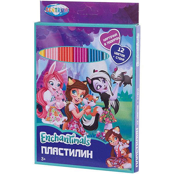 Пластилин Centrum Enchantimals с картинками, 12 цветовПластилин<br>Характеристики:<br><br>• набор для детского творчества;<br>• цветной пластилин, 12 цветов;<br>• карточка для мозаичной лепки;<br>• в комплекте инструмент для лепки – стек;<br>• общий вес пластилина: 240 г.<br><br>Процесс лепки для детей является творческим и увлекательным занятием, в ходе которого развивается мелкая моторика пальчиков. Набор для творчества Enchantimals предлагает картонную картинку-шаблон, которая используется для мозаичной лепки. Пластилин не окрашивает руки, не оставляет жирных разводов на одежде и рабочей поверхности. <br><br>Пластилин 12 цветов с картинкой Enchantimals 240 г. можно купить в нашем интернет-магазине.<br>Ширина мм: 15; Глубина мм: 145; Высота мм: 222; Вес г: 250; Цвет: разноцветный; Возраст от месяцев: 36; Возраст до месяцев: 84; Пол: Женский; Возраст: Детский; SKU: 7481544;