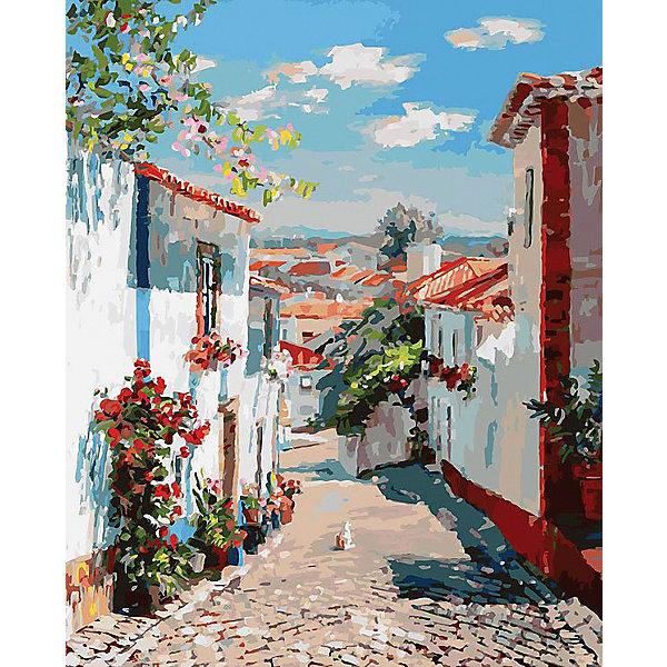 Раскраска по номерам Белоснежка Улочка в португальском поселке, 40х50 смКартины по номерам<br>Характеристики:<br><br>• тип набора для творчества: картина по номерам;<br>• возраст: от 6 лет;<br>• размер: 40х50 см;<br>• количество красок: 39цветов;<br>• тип красок: акриловые;<br>• комплектация: полотно с эскизом рисунка, сверочный лист, краски, кисточки, комплект креплений;<br>• автор сюжета: Artemis;<br>• вес: 1 кг;<br>• бренд: Белоснежка.<br><br> Набор «Улочка в португальском поселке» представляет собой комплект для живописи на цветном холсте. Он подойдет для детей от 6 лет и старше и станет увлекательным времяпрепровождением для любого ребенка.  Кроме того, это оригинальный подарок как начинающим художникам-любителям, так и профессионалам. Шаг за шагом, закрашивая красками пронумерованные фрагменты изображения, можно получить в итоге такую симпатичную картину. В качестве украшения интерьера она придется очень кстати.<br> <br>Большие участки картины залиты светлой краской с близким оттенком по цвету. Благодаря этому, легче ориентироваться в сюжете картины, ведь всегда понятно, какая часть картины сейчас в работе. Цветные участки хорошо закрашиваются акриловыми красками.<br><br>Техника раскрашивания по номерам дает возможность легко рисовать даже сложные сюжеты. Прекрасно развивает художественный вкус, аккуратность и усидчивость. Набор предназначен  для детей  и взрослых.<br><br> Набор «Улочка в португальском поселке»  можно купить в нашем интернет-магазине.<br>Ширина мм: 40; Глубина мм: 50; Высота мм: 50; Вес г: 850; Возраст от месяцев: 72; Возраст до месяцев: 2147483647; Пол: Унисекс; Возраст: Детский; SKU: 7482309;