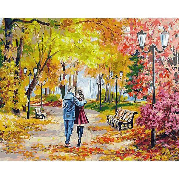 Раскраска по номерам Белоснежка Осенний парк, скамейка, двое, 40х50 смКартины по номерам<br>Характеристики:<br><br>• тип набора для творчества: картина по номерам;<br>• возраст: от 6 лет;<br>• размер: 40х50 см;<br>• количество красок: 40 цветов;<br>• тип красок: акриловые;<br>• комплектация: полотно с эскизом рисунка, сверочный лист, краски, кисточки, комплект креплений;<br>• автор сюжета: Елена Самарская;<br>• вес: 1 кг;<br>• бренд: Белоснежка.<br><br> Набор «Осенний парк, скамейка, двое» представляет собой комплект для живописи на цветном холсте. Он подойдет для детей от 6 лет и старше и станет увлекательным времяпрепровождением для любого ребенка.  Кроме того, это оригинальный подарок как начинающим художникам-любителям, так и профессионалам. Шаг за шагом, закрашивая красками пронумерованные фрагменты изображения, можно получить в итоге такую симпатичную картину. В качестве украшения интерьера она придется очень кстати.<br> <br>Большие участки картины залиты светлой краской с близким оттенком по цвету. Благодаря этому, легче ориентироваться в сюжете картины, ведь всегда понятно, какая часть картины сейчас в работе. Цветные участки хорошо закрашиваются акриловыми красками.<br><br>Техника раскрашивания по номерам дает возможность легко рисовать даже сложные сюжеты. Прекрасно развивает художественный вкус, аккуратность и усидчивость. Набор предназначен  для детей  и взрослых.<br><br> Набор «Осенний парк, скамейка, двое»  можно купить в нашем интернет-магазине.<br>Ширина мм: 40; Глубина мм: 50; Высота мм: 50; Вес г: 900; Возраст от месяцев: 72; Возраст до месяцев: 2147483647; Пол: Унисекс; Возраст: Детский; SKU: 7482339;