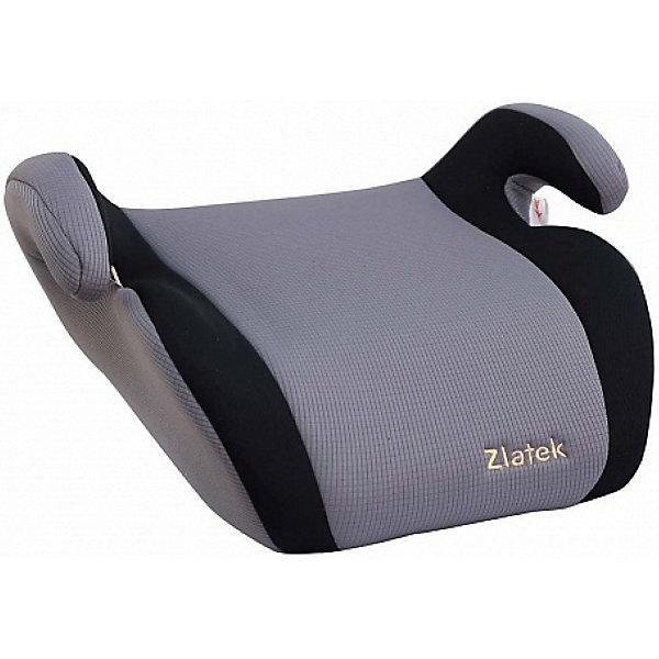 Автокресло-бустер Zlatek Raft 22-36 кг серыйГруппа 3 (от 22 до 36 кг) Бустеры<br>Характеристики:<br><br>• группа: 3;<br>• вес ребенка: 22-36 кг;<br>• возраст ребенка: 6-12 лет;<br>• способ установки: по ходу движения автомобиля;<br>• способ крепления: штатными ремнями безопасности;<br>• усиленный каркас сиденья изготовлен экструзионно-выдувным способом;<br>• специальная конструкция подлокотников;<br>• увеличенное посадочное место;<br>• компактный размер;<br>• материал: ударопрочный ПНД-пластик, полиэстер;<br>• соответствует правилам ЕЭК ООН № 44-04;<br>• размер бустера: 42х37х18 см;<br>• вес: 1 кг.<br><br>Бустер Zlatek Raft используется с целью приподнять ребенка по высоте, чтобы штатный ремень безопасности проходил по плечу и груди ребенка. Чехлы снимаются для стирки. <br><br>Автокресло Zlatek Raft цвет серый можно купить в нашем интернет-магазине.<br>Ширина мм: 1188; Глубина мм: 408; Высота мм: 368; Вес г: 1270; Цвет: серый; Возраст от месяцев: 72; Возраст до месяцев: 144; Пол: Унисекс; Возраст: Детский; SKU: 7483485;