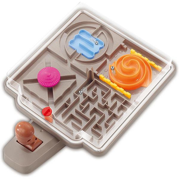 Головоломка-геймпад  4 в 1Головоломки - лабиринты<br>Характеристики товара:<br><br>• возраст: от 3 лет;<br>• материал: пластик, металл;<br>• размер упаковки: 27х21х7,8 см;<br>• вес упаковки: 385 гр.;<br>• страна производитель: Китай.<br><br>Головоломка-геймпад 4 в 1 - увлекательная логическая игрушка для детей. На платформе расположен настоящий лабиринт. По нему предстоит провести от начала и до конца металлический шарик, управляя им при помощи рычага. <br><br>Головоломку-геймпад 4 в 1 можно приобрести в нашем интернет-магазине.<br>Ширина мм: 270; Глубина мм: 210; Высота мм: 78; Вес г: 385; Цвет: лиловый; Возраст от месяцев: 36; Возраст до месяцев: 2147483647; Пол: Унисекс; Возраст: Детский; SKU: 7484809;