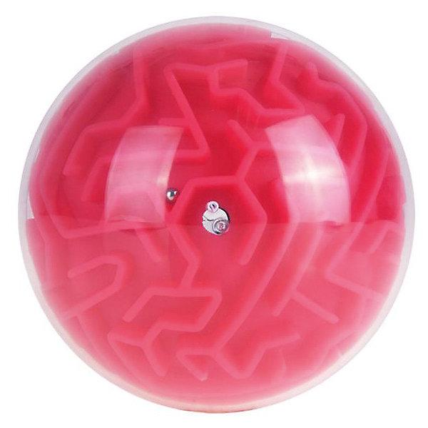 Купить Головоломка шар-лабиринт (), Головоломка шар-лабиринт (красный), Китай, Унисекс