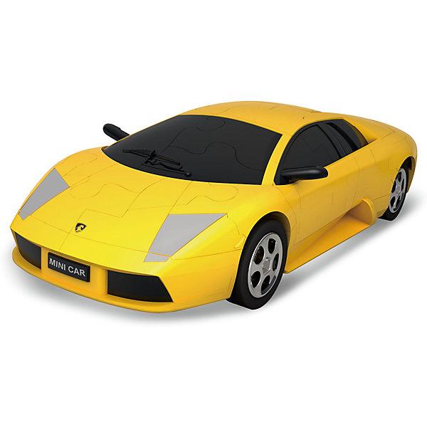 3Д-пазл Автомобиль (желтый)3D пазлы<br>Характеристики товара:<br><br>• возраст: от 14 лет;<br>• материал: пластик;<br>• в комплекте: 64 детали;<br>• масштаб машины: 1:32;<br>• размер упаковки: 22х15х5 см;<br>• вес упаковки: 200 гр.;<br>• страна производитель: Китай.<br><br>3D пазл Happy Fun «Автомобиль желтый» позволит собрать из деталей объемную модель автомобиля. Все элементы имеют специальные пазы для соединения между собой. Сборка происходит без дополнительных инструментов и клея. В процессе сборки у детей развивается мелкая моторика рук, внимательность, усидчивость, логическое мышление.<br><br>3D пазл Happy Fun «Автомобиль желтый» можно приобрести в нашем интернет-магазине.<br>Ширина мм: 220; Глубина мм: 150; Высота мм: 50; Вес г: 200; Цвет: желтый; Возраст от месяцев: 36; Возраст до месяцев: 2147483647; Пол: Унисекс; Возраст: Детский; SKU: 7484858;