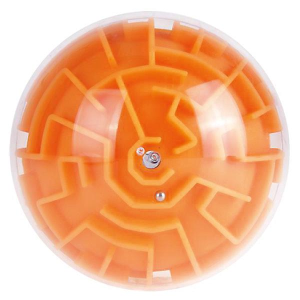 Купить Головоломка шар-лабиринт (), Головоломка шар-лабиринт (оранжевый), Китай, Унисекс
