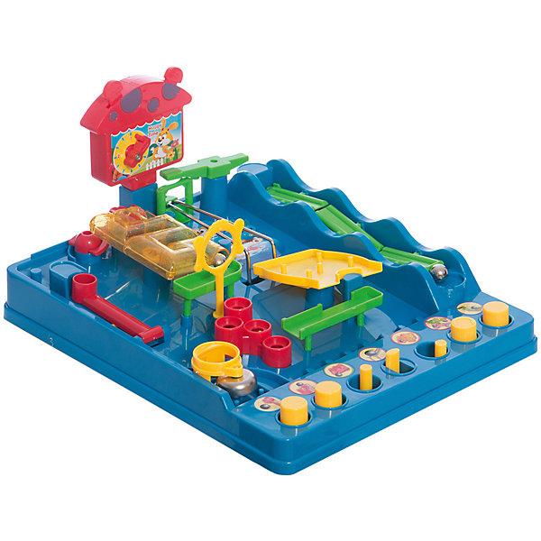 Головоломка ЛабиринтГоловоломки - лабиринты<br>Характеристики товара:<br><br>• возраст: от 3 лет;<br>• материал: пластик;<br>• размер упаковки: 34х27х10 см;<br>• вес упаковки: 990 гр.;<br>• страна производитель: Китай.<br><br>Головоломка «Лабиринт» - увлекательная логическая игрушка для детей. На платформе расположен настоящий лабиринт. По нему предстоит провести от начала и до конца металлический шарик, управляя механизмами при помощи кнопок и рычагов. При прохождении лабиринта шарик не должен упасть. Если он упадет, то игрок начинает игру заново. <br><br>Головоломку «Лабиринт» можно приобрести в нашем интернет-магазине.<br>Ширина мм: 340; Глубина мм: 100; Высота мм: 270; Вес г: 990; Цвет: синий; Возраст от месяцев: 36; Возраст до месяцев: 2147483647; Пол: Унисекс; Возраст: Детский; SKU: 7484877;