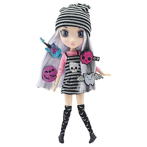 Кукла Hunter Products Shibajuku Girls Йоко, 33 смКуклы<br>Характеристики товара:<br>• возраст: от 3 лет;<br>• материал: пластик, текстиль;<br>• в комплекте: кукла, аксессуары;<br>• высота куклы: 33 см;<br>• размер упаковки: 38х21х11 см;<br>• вес упаковки: 594 гр.;<br>• страна производитель: Китай.<br>Кукла Shibajuku Girls «Йоко2» - очаровательная блондинка с длинными волосами с темными прядями. Она одета в рок-стиле: на ней полосатая шапочка и платье с нашивкой в виде черепа. Волосы куколки можно расчесывать и украшать, а аксессуары помогут создать для куклы стильный образ.<br>Куклу Shibajuku Girls «Йоко2» можно приобрести в нашем интернет-магазине.<br>Ширина мм: 210; Глубина мм: 110; Высота мм: 380; Вес г: 594; Возраст от месяцев: 36; Возраст до месяцев: 2147483647; Пол: Женский; Возраст: Детский; SKU: 7487082;