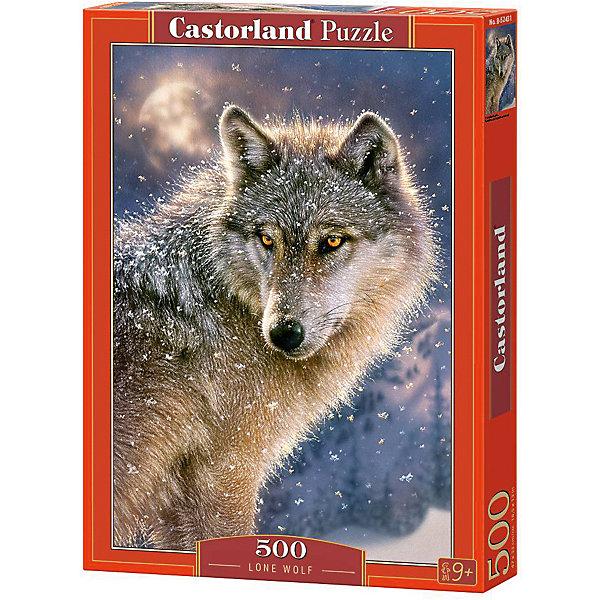 Купить Пазл Castorland Волк 500 деталей, Польша, Унисекс