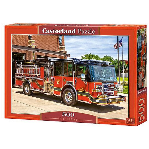 Пазл Castorland Пожарная машина 500 деталейПазлы классические<br>Характеристики товара:<br><br>• возраст: от 6 лет;<br>• количество деталей: 500 шт;<br>• материал: картон;<br>• размер упаковки: 32х22х4,7 см;<br>• размер картины: 47х33 см;<br>• вес упаковки: 320 гр.;<br>• страна производитель: Польша.<br><br>Пазл Castorland (Касторлэнд) Пожарная машина – это отличный способ увлекательно провести досуг, снять стресс и развить моторику.<br><br>Качество этих пазлов подтверждено миллионами любителей сборки пазлов. Пазлы Castorland собираются легко. Каждая деталь имеет индивидуальную форму и легко соединяется с другой, поэтому у Вас обязательно получится ожидаемый результат - картина собранная собственными руками.<br><br>Пазл Castorland (Касторлэнд) Пожарная машина можно купить в нашем интернет-магазине.<br>Ширина мм: 320; Глубина мм: 220; Высота мм: 47; Вес г: 300; Возраст от месяцев: 72; Возраст до месяцев: 2147483647; Пол: Унисекс; Возраст: Детский; SKU: 7487321;