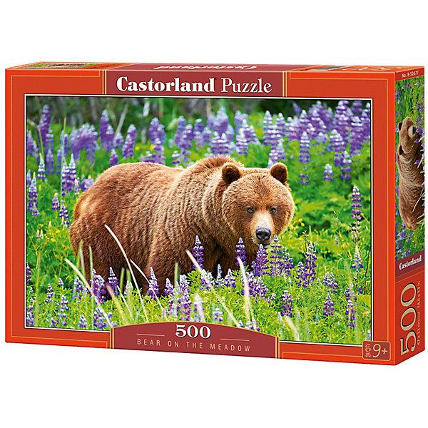 Пазл Castorland Медведь на лугу 500 деталейПазлы классические<br>Характеристики товара:<br><br>• возраст: от 6 лет;<br>• количество деталей: 500 шт;<br>• материал: картон;<br>• размер упаковки: 32х22х4,7 см;<br>• размер картины: 47х33 см;<br>• вес упаковки: 320 гр.;<br>• страна производитель: Польша.<br><br>Пазл Castorland (Касторлэнд) Медведь на лугу – это отличный способ увлекательно провести досуг, снять стресс и развить моторику.<br><br>Качество этих пазлов подтверждено миллионами любителей сборки пазлов. Пазлы Castorland собираются легко. Каждая деталь имеет индивидуальную форму и легко соединяется с другой, поэтому у Вас обязательно получится ожидаемый результат - картина собранная собственными руками.<br><br>Пазл Castorland (Касторлэнд) Медведь на лугу можно купить в нашем интернет-магазине.<br><br>Ширина мм: 320<br>Глубина мм: 220<br>Высота мм: 47<br>Вес г: 300<br>Возраст от месяцев: 72<br>Возраст до месяцев: 2147483647<br>Пол: Унисекс<br>Возраст: Детский<br>SKU: 7487322