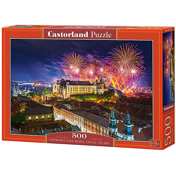 Купить Пазл Castorland Замок Вавель, Польша 500 деталей, Унисекс
