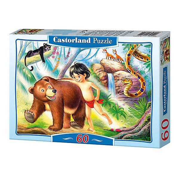 Пазл Castorland Маугли  60 деталей MIDIПазлы для малышей<br>Характеристики товара:<br><br>• возраст: от 3 лет;<br>• количество деталей: 60 шт;<br>• материал: картон;<br>• размер упаковки: 17,5х13х3,7 см;<br>• размер картины: 32х23 см;<br>• вес упаковки: 150 гр.;<br>• страна производитель: Польша.<br><br>Пазл Castorland (Касторлэнд) Маугли  – это отличный способ увлекательно провести досуг, снять стресс и развить моторику.<br><br>Качество этих пазлов подтверждено миллионами любителей сборки пазлов. Пазлы Castorland собираются легко. Каждая деталь имеет индивидуальную форму и легко соединяется с другой, поэтому у Вас обязательно получится ожидаемый результат - картина собранная собственными руками.<br><br>Пазл Castorland (Касторлэнд) Маугли  можно купить в нашем интернет-магазине.<br>Ширина мм: 180; Глубина мм: 130; Высота мм: 40; Вес г: 150; Возраст от месяцев: 36; Возраст до месяцев: 2147483647; Пол: Унисекс; Возраст: Детский; SKU: 7487347;