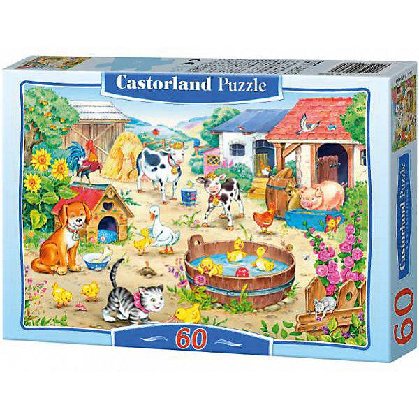 Пазл Castorland Ферма 60 деталей MIDIПазлы для малышей<br>Характеристики товара:<br><br>• возраст: от 3 лет;<br>• количество деталей: 60 шт;<br>• материал: картон;<br>• размер упаковки: 17,5х13х3,7 см;<br>• размер картины: 32х23 см;<br>• вес упаковки: 150 гр.;<br>• страна производитель: Польша.<br><br>Пазл Castorland (Касторлэнд)Ферма – это отличный способ увлекательно провести досуг, снять стресс и развить моторику.<br><br>Качество этих пазлов подтверждено миллионами любителей сборки пазлов. Пазлы Castorland собираются легко. Каждая деталь имеет индивидуальную форму и легко соединяется с другой, поэтому у Вас обязательно получится ожидаемый результат - картина собранная собственными руками.<br><br>Пазл Castorland (Касторлэнд)Ферма можно купить в нашем интернет-магазине.<br>Ширина мм: 180; Глубина мм: 130; Высота мм: 40; Вес г: 150; Возраст от месяцев: 36; Возраст до месяцев: 2147483647; Пол: Унисекс; Возраст: Детский; SKU: 7487354;