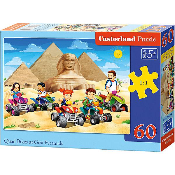 Пазл Castorland Пирамиды Египта 60 деталей MIDIПазлы для малышей<br>Характеристики товара:<br><br>• возраст: от 3 лет;<br>• количество деталей: 60 шт;<br>• материал: картон;<br>• размер упаковки: 17,5х13х3,7 см;<br>• размер картины: 32х23 см;<br>• вес упаковки: 150 гр.;<br>• страна производитель: Польша.<br><br>Пазл Castorland (Касторлэнд)Пирамиды Египта – это отличный способ увлекательно провести досуг, снять стресс и развить моторику.<br><br>Качество этих пазлов подтверждено миллионами любителей сборки пазлов. Пазлы Castorland собираются легко. Каждая деталь имеет индивидуальную форму и легко соединяется с другой, поэтому у Вас обязательно получится ожидаемый результат - картина собранная собственными руками.<br><br>Пазл Castorland (Касторлэнд)Пирамиды Египта можно купить в нашем интернет-магазине.<br>Ширина мм: 180; Глубина мм: 130; Высота мм: 40; Вес г: 150; Возраст от месяцев: 36; Возраст до месяцев: 2147483647; Пол: Унисекс; Возраст: Детский; SKU: 7487355;