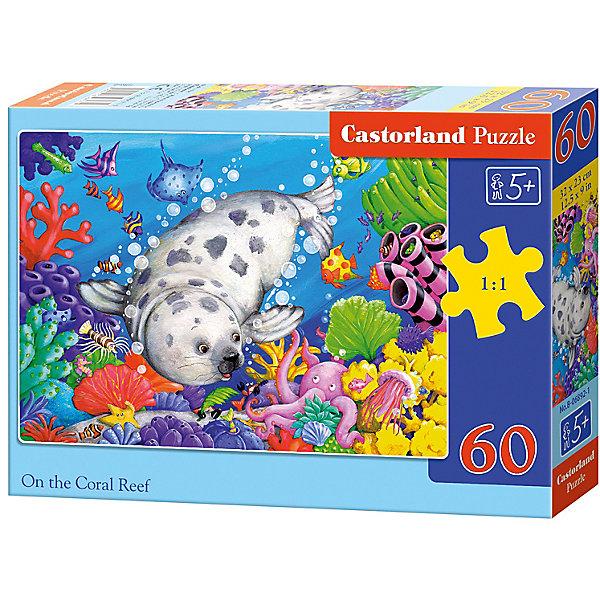 Пазл Castorland Коралловые рифы 60 деталей MIDIПазлы для малышей<br>Характеристики товара:<br><br>• возраст: от 3 лет;<br>• количество деталей: 60 шт;<br>• материал: картон;<br>• размер упаковки: 17,5х13х3,7 см;<br>• размер картины: 32х23 см;<br>• вес упаковки: 150 гр.;<br>• страна производитель: Польша.<br><br>Пазл Castorland (Касторлэнд) Коралловые рифы – это отличный способ увлекательно провести досуг, снять стресс и развить моторику.<br><br>Качество этих пазлов подтверждено миллионами любителей сборки пазлов. Пазлы Castorland собираются легко. Каждая деталь имеет индивидуальную форму и легко соединяется с другой, поэтому у Вас обязательно получится ожидаемый результат - картина собранная собственными руками.<br><br>Пазл Castorland (Касторлэнд) Коралловые рифы можно купить в нашем интернет-магазине.<br>Ширина мм: 180; Глубина мм: 130; Высота мм: 40; Вес г: 150; Возраст от месяцев: 36; Возраст до месяцев: 2147483647; Пол: Унисекс; Возраст: Детский; SKU: 7487373;
