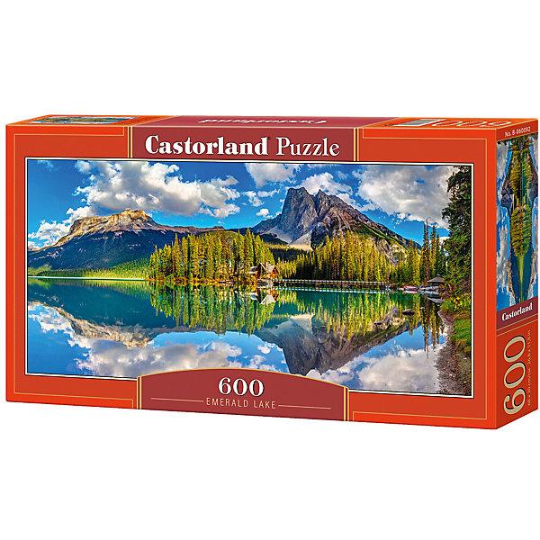Пазл Castorland Изумрудное озеро 600 деталейПазлы классические<br>Характеристики товара:<br><br>• возраст: от 6 лет;<br>• количество деталей: 600 шт;<br>• материал: картон;<br>• размер упаковки: 35х20х0,5 см;<br>• размер картины: 60х30 см;<br>• вес упаковки: 500 гр.;<br>• страна производитель: Польша.<br><br>Пазл Castorland (Касторлэнд) Изумрудное озеро – это отличный способ увлекательно провести досуг, снять стресс и развить моторику.<br><br>Качество этих пазлов подтверждено миллионами любителей сборки пазлов. Пазлы Castorland собираются легко. Каждая деталь имеет индивидуальную форму и легко соединяется с другой, поэтому у Вас обязательно получится ожидаемый результат - картина собранная собственными руками.<br><br>Пазл Castorland (Касторлэнд) Изумрудное озеро  можно купить в нашем интернет-магазине.<br>Ширина мм: 350; Глубина мм: 200; Высота мм: 50; Вес г: 500; Возраст от месяцев: 84; Возраст до месяцев: 2147483647; Пол: Унисекс; Возраст: Детский; SKU: 7487383;