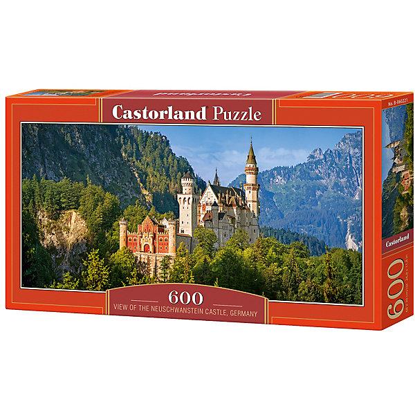 Пазл Castorland Нойшванштайн 600 деталейПазлы классические<br>Характеристики товара:<br><br>• возраст: от 6 лет;<br>• количество деталей: 600 шт;<br>• материал: картон;<br>• размер упаковки: 35х20х0,5 см;<br>• размер картины: 60х30 см;<br>• вес упаковки: 500 гр.;<br>• страна производитель: Польша.<br><br>Пазл Castorland (Касторлэнд) Нойшванштайн – это отличный способ увлекательно провести досуг, снять стресс и развить моторику.<br><br>Качество этих пазлов подтверждено миллионами любителей сборки пазлов. Пазлы Castorland собираются легко. Каждая деталь имеет индивидуальную форму и легко соединяется с другой, поэтому у Вас обязательно получится ожидаемый результат - картина собранная собственными руками.<br><br>Пазл Castorland (Касторлэнд) Нойшванштайн можно купить в нашем интернет-магазине.<br>Ширина мм: 350; Глубина мм: 200; Высота мм: 50; Вес г: 500; Возраст от месяцев: 84; Возраст до месяцев: 2147483647; Пол: Унисекс; Возраст: Детский; SKU: 7487393;