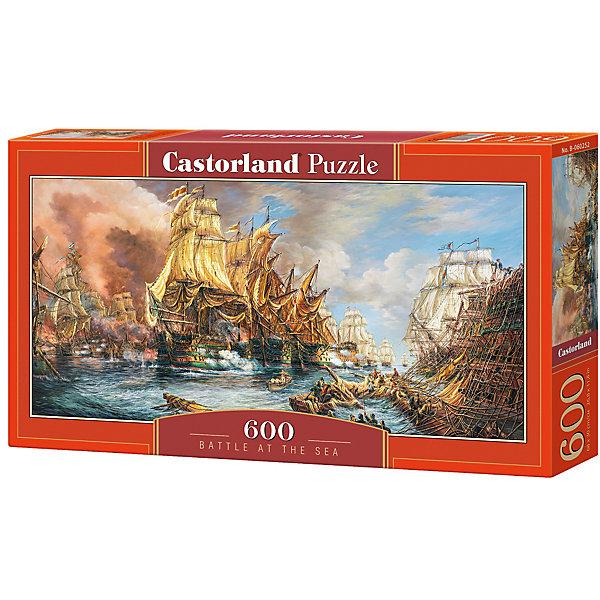 Купить Пазл Castorland Битва на море 600 деталей, Польша, Унисекс