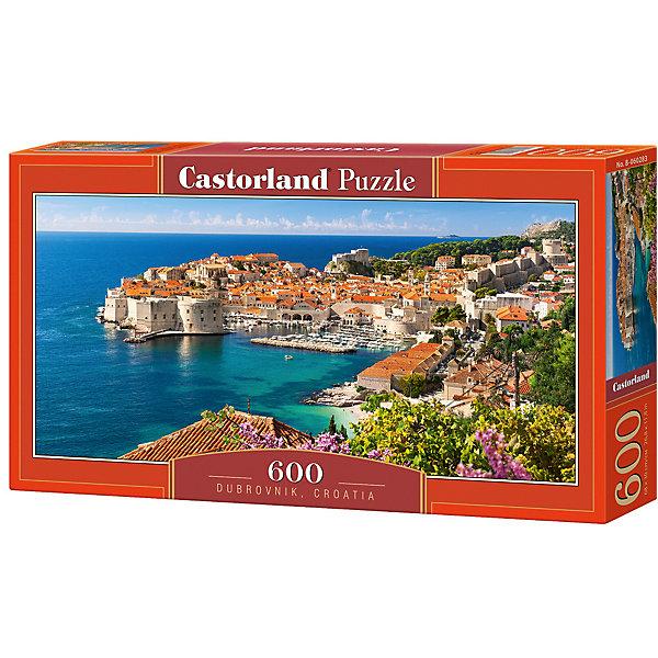 Пазл Castorland Дубровник, Хорватия 600 деталейПазлы классические<br>Характеристики товара:<br><br>• возраст: от 6 лет;<br>• количество деталей: 600 шт;<br>• материал: картон;<br>• размер упаковки: 35х20х0,5 см;<br>• размер картины: 60х30 см;<br>• вес упаковки: 500 гр.;<br>• страна производитель: Польша.<br><br>Пазл Castorland (Касторлэнд) Дубровник, Хорватия – это отличный способ увлекательно провести досуг, снять стресс и развить моторику.<br><br>Качество этих пазлов подтверждено миллионами любителей сборки пазлов. Пазлы Castorland собираются легко. Каждая деталь имеет индивидуальную форму и легко соединяется с другой, поэтому у Вас обязательно получится ожидаемый результат - картина собранная собственными руками.<br><br>Пазл Castorland (Касторлэнд) Дубровник, Хорватия  можно купить в нашем интернет-магазине.<br>Ширина мм: 350; Глубина мм: 200; Высота мм: 50; Вес г: 500; Возраст от месяцев: 84; Возраст до месяцев: 2147483647; Пол: Унисекс; Возраст: Детский; SKU: 7487399;
