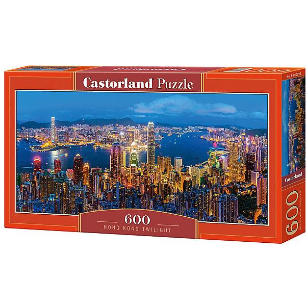 Купить Пазл Castorland Сумерки в Гонконге 600 деталей, Польша, Унисекс