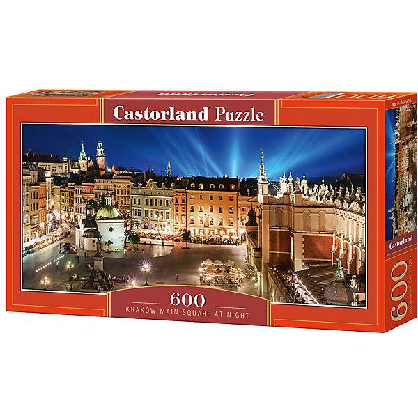 Купить Пазл Castorland Ночная площадь 600 деталей, Польша, Унисекс
