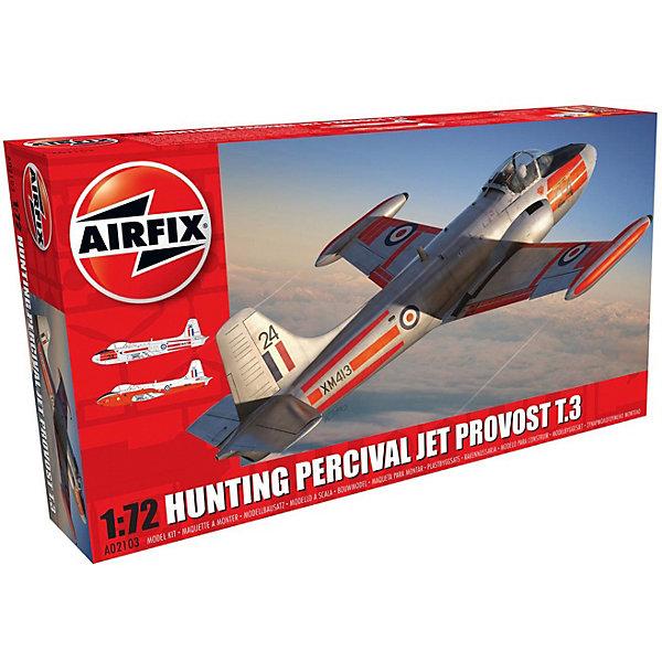Сборная модель Airfix Самолет Hunting Percival Jet Provost T.3/T.3a 1:72Самолеты и вертолеты<br>Характеристики:<br><br>• возраст: от 8 лет;<br>• материал: пластик;<br>• масштаб: 1:72;<br>• количество элементов: 45;<br>• схема покраски;<br>• клей и краски: не в наборе;<br>• длина модели: 13,7 см;<br>• размах крыльев: 15,6 см;<br>• вес упаковки: 133 гр.;<br>• размер упаковки: 23х12,5х4,5 см;<br>• страна бренда: Великобритания.<br><br>Модель для сборки Hunting Percival Jet Provost T.3/T.3a от Airfix изображает одноименный учебный самолет Британии. Каждая деталь выполнена из качественного пластика, элементы детализированы под покраску.<br><br>В подробной инструкции описаны шаги к созданию идентичной копии самолета. Конструирование модели развивает усидчивость и внимательность, повышает творческие способности и задействует пространственное мышление.<br><br>Готовая модель может стать отличным подарком близким, личным сувениром или частью коллекции сборных моделей.<br><br>Сборную модель Hunting Percival Jet Provost T.3/T.3a 1:72 можно купить в нашем интернет-магазине.<br><br>Ширина мм: 230<br>Глубина мм: 125<br>Высота мм: 45<br>Вес г: 133<br>Возраст от месяцев: 96<br>Возраст до месяцев: 2147483647<br>Пол: Мужской<br>Возраст: Детский<br>SKU: 7490428