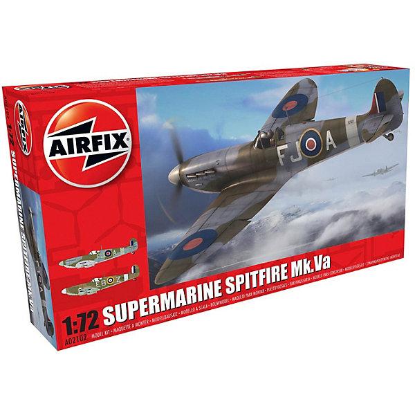Сборная модель Airfix Истребитель Supermarine Spitfire Mk.VA 1:72Самолеты и вертолеты<br>Характеристики:<br><br>• возраст: от 8 лет;<br>• материал: пластик;<br>• масштаб: 1:72;<br>• количество элементов: 46;<br>• схема покраски;<br>• клей и краски: не в наборе;<br>• длина модели: 12,7 см;<br>• размах крыльев: 15,5 см;<br>• вес упаковки: 117 гр.;<br>• размер упаковки: 23х12,5х4,4 см;<br>• страна бренда: Великобритания.<br><br>Модель для сборки Supermarine Spitfire Mk.VA от Airfix изображает одноименный истребитель. Каждая деталь выполнена из качественного пластика, элементы детализированы под покраску.<br><br>В подробной инструкции описаны шаги к созданию идентичной копии самолета. Конструирование модели развивает усидчивость и внимательность, повышает творческие способности и задействует пространственное мышление.<br><br>Готовая модель может стать отличным подарком близким, личным сувениром или частью коллекции сборных моделей.<br><br>Сборную модель Supermarine Spitfire Mk.VA 1:72 можно купить в нашем интернет-магазине.<br>Ширина мм: 230; Глубина мм: 125; Высота мм: 44; Вес г: 117; Возраст от месяцев: 96; Возраст до месяцев: 2147483647; Пол: Мужской; Возраст: Детский; SKU: 7490430;