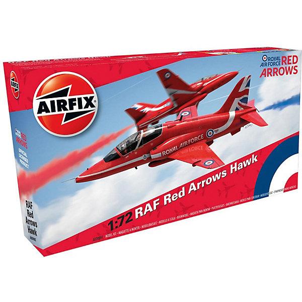 Сборная модель Airfix Самолет RAF Red Arrows Hawk 1:72Самолеты и вертолеты<br>Характеристики:<br><br>• возраст: от 8 лет;<br>• материал: пластик;<br>• масштаб: 1:72;<br>• количество элементов: 59;<br>• схема покраски;<br>• клей и краски: не в наборе;<br>• длина модели: 16,3 см;<br>• размах крыльев: 13 см;<br>• вес упаковки: 138 гр.;<br>• размер упаковки: 23,1х12,6х4,3 см;<br>• страна бренда: Великобритания.<br><br>Модель для сборки RAF Red Arrows Hawk от Airfix изображает одноименный учебный самолет. Каждая деталь выполнена из качественного пластика, элементы детализированы под покраску.<br><br>В подробной инструкции описаны шаги к созданию идентичной копии самолета. Конструирование модели развивает усидчивость и внимательность, повышает творческие способности и задействует пространственное мышление.<br><br>Готовая модель может стать отличным подарком близким, личным сувениром или частью коллекции сборных моделей.<br><br>Сборную модель RAF Red Arrows Hawk 1:72 можно купить в нашем интернет-магазине.<br>Ширина мм: 231; Глубина мм: 126; Высота мм: 43; Вес г: 138; Возраст от месяцев: 96; Возраст до месяцев: 2147483647; Пол: Мужской; Возраст: Детский; SKU: 7490431;