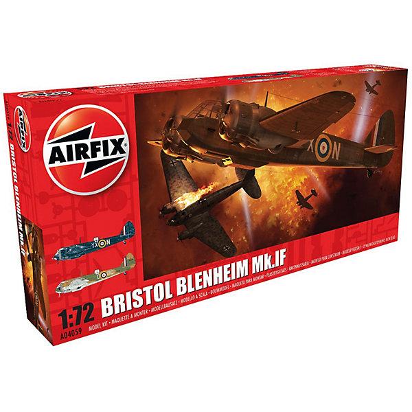 Сборная модель Airfix Самолет Bristol Blenheim Mk.If 1:72Самолеты и вертолеты<br>Характеристики:<br><br>• возраст: от 8 лет;<br>• материал: пластик;<br>• масштаб: 1:72;<br>• количество элементов: 156;<br>• схема покраски;<br>• клей и краски: не в наборе;<br>• длина модели: 16,9 см;<br>• размах крыльев: 23,8 см;<br>• вес упаковки: 274 гр.;<br>• размер упаковки: 34х16,3х5 см;<br>• страна бренда: Великобритания.<br><br>Модель для сборки Bristol Blenheim Mk.If от Airfix изображает одноименный английский истребитель. Каждая деталь выполнена из качественного пластика, элементы детализированы под покраску.<br><br>В подробной инструкции описаны шаги к созданию идентичной копии самолета. Конструирование модели развивает усидчивость и внимательность, повышает творческие способности и задействует пространственное мышление.<br><br>Готовая модель может стать отличным подарком близким, личным сувениром или частью коллекции сборных моделей.<br><br>Сборную модель Bristol Blenheim Mk.If 1:72 можно купить в нашем интернет-магазине.<br>Ширина мм: 340; Глубина мм: 163; Высота мм: 50; Вес г: 274; Возраст от месяцев: 96; Возраст до месяцев: 2147483647; Пол: Мужской; Возраст: Детский; SKU: 7490440;