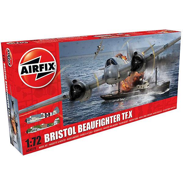 Сборная модель Airfix Самолет Bristol Beaufighter Mk.X 1:72Самолеты и вертолеты<br>Характеристики:<br><br>• возраст: от 8 лет;<br>• материал: пластик;<br>• масштаб: 1:72;<br>• количество элементов: 130;<br>• схема покраски;<br>• клей и краски: не в наборе;<br>• длина модели: 17,6 см;<br>• размах крыльев: 24,6 см;<br>• вес упаковки: 237 гр.;<br>• размер упаковки: 34х16х5 см;<br>• страна бренда: Великобритания.<br><br>Модель для сборки Bristol Beaufighter Mk.X от Airfix изображает одноименный тяжелый истребитель Британии. Каждая деталь выполнена из качественного пластика, элементы детализированы под покраску.<br><br>В подробной инструкции описаны шаги к созданию идентичной копии самолета. Конструирование модели развивает усидчивость и внимательность, повышает творческие способности и задействует пространственное мышление.<br><br>Готовая модель может стать отличным подарком близким, личным сувениром или частью коллекции сборных моделей.<br><br>Сборную модель Bristol Beaufighter Mk.X 1:72 можно купить в нашем интернет-магазине.<br>Ширина мм: 340; Глубина мм: 160; Высота мм: 50; Вес г: 237; Возраст от месяцев: 96; Возраст до месяцев: 2147483647; Пол: Мужской; Возраст: Детский; SKU: 7490442;