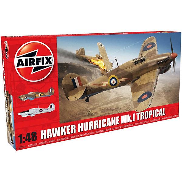 Сборная модель Airfix Истребитель Hawker Hurricane Mk.I - Tropical 1:48Самолеты и вертолеты<br>Характеристики:<br><br>• возраст: от 8 лет;<br>• материал: пластик;<br>• масштаб: 1:48;<br>• количество элементов: 127;<br>• схема покраски;<br>• клей и краски: не в наборе;<br>• длина модели: 20 см;<br>• размах крыльев: 25,5 см;<br>• вес упаковки: 298 гр.;<br>• размер упаковки: 35,8х18,5х4,9 см;<br>• страна бренда: Великобритания.<br><br>Модель для сборки Hawker Hurricane Mk.I – Tropical от Airfix изображает одноименный британский истребитель. Каждая деталь выполнена из качественного пластика, элементы детализированы под покраску.<br><br>В подробной инструкции описаны шаги к созданию идентичной копии самолета. Конструирование модели развивает усидчивость и внимательность, повышает творческие способности и задействует пространственное мышление.<br><br>Готовая модель может стать отличным подарком близким, личным сувениром или частью коллекции сборных моделей.<br><br>Сборную модель Hawker Hurricane Mk.I – Tropical 1:48 можно купить в нашем интернет-магазине.<br>Ширина мм: 358; Глубина мм: 185; Высота мм: 49; Вес г: 298; Возраст от месяцев: 96; Возраст до месяцев: 2147483647; Пол: Мужской; Возраст: Детский; SKU: 7490449;
