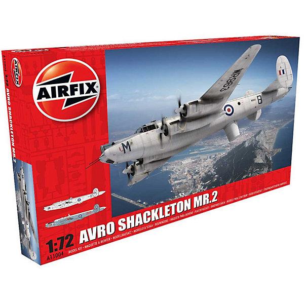 Сборная модель Airfix Самолет Avro Shackleton MR.2 1:72Самолеты и вертолеты<br>Характеристики:<br><br>• возраст: от 8 лет;<br>• материал: пластик;<br>• масштаб: 1:72;<br>• количество элементов: 269;<br>• схема покраски;<br>• клей и краски: не в наборе;<br>• длина модели: 38,8 см;<br>• размах крыльев: 50,8 см;<br>• вес упаковки: 921 гр.;<br>• размер упаковки: 49,8х32х8,1 см;<br>• страна бренда: Великобритания.<br><br>Модель для сборки Avro Shackleton MR.2 от Airfix изображает одноименный патрульный противолодочный самолет Великобритании. Каждая деталь выполнена из качественного пластика, элементы детализированы под покраску.<br><br>В подробной инструкции описаны шаги к созданию идентичной копии самолета. Конструирование модели развивает усидчивость и внимательность, повышает творческие способности и задействует пространственное мышление.<br><br>Готовая модель может стать отличным подарком близким, личным сувениром или частью коллекции сборных моделей.<br><br>Сборную модель Avro Shackleton MR.2 1:72 можно купить в нашем интернет-магазине.<br>Ширина мм: 498; Глубина мм: 320; Высота мм: 81; Вес г: 921; Возраст от месяцев: 96; Возраст до месяцев: 2147483647; Пол: Мужской; Возраст: Детский; SKU: 7490466;