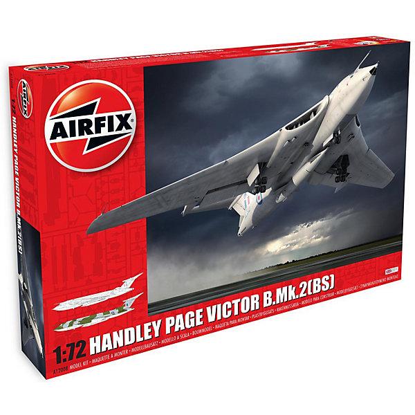 Сборная модель Airfix Самолет Handley Page Victor B.2 1:72Самолеты и вертолеты<br>Характеристики:<br><br>• возраст: от 8 лет;<br>• материал: пластик;<br>• масштаб: 1:72;<br>• количество элементов: 228;<br>• схема покраски;<br>• клей и краски: не в наборе;<br>• длина модели: 48,6 см;<br>• размах крыльев: 50,8 см;<br>• вес упаковки: 1,11 кг.;<br>• размер упаковки: 56х38х8 см;<br>• страна бренда: Великобритания.<br><br>Модель для сборки Handley Page Victor B.2 от Airfix изображает одноименный реактивный стратегический бомбардировщик. Каждая деталь выполнена из качественного пластика, элементы детализированы под покраску.<br><br>В подробной инструкции описаны шаги к созданию идентичной копии самолета. Конструирование модели развивает усидчивость и внимательность, повышает творческие способности и задействует пространственное мышление.<br><br>Готовая модель может стать отличным подарком близким, личным сувениром или частью коллекции сборных моделей.<br><br>Сборную модель Handley Page Victor B.2 1:72 можно купить в нашем интернет-магазине.<br>Ширина мм: 560; Глубина мм: 380; Высота мм: 80; Вес г: 1114; Возраст от месяцев: 96; Возраст до месяцев: 2147483647; Пол: Мужской; Возраст: Детский; SKU: 7490468;