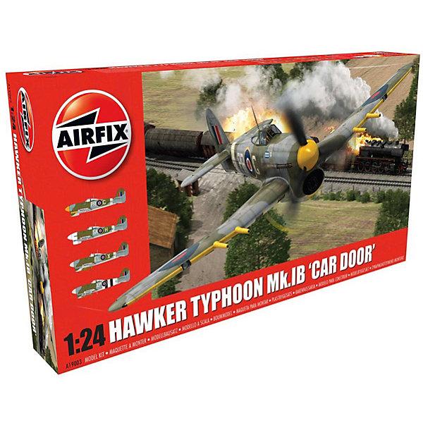 Сборная модель Airfix Самолет Hawker Typhoon 1B - Car Door 1:24Самолеты и вертолеты<br>Характеристики:<br><br>• возраст: от 8 лет;<br>• материал: пластик;<br>• масштаб: 1:24;<br>• схема покраски;<br>• клей и краски: не в наборе;<br>• длина модели: 40,4 см;<br>• размах крыльев: 52,8 см;<br>• вес упаковки: 1,93 кг.;<br>• размер упаковки: 67х35,2х12 см;<br>• страна бренда: Великобритания.<br><br>Модель для сборки Hawker Typhoon 1B - Car Door от Airfix изображает одноименный одноместный истребитель-бомбардировщик Британии. Каждая деталь выполнена из качественного пластика, элементы детализированы под покраску.<br><br>В подробной инструкции описаны шаги к созданию идентичной копии самолета. Конструирование модели развивает усидчивость и внимательность, повышает творческие способности и задействует пространственное мышление.<br><br>Готовая модель может стать отличным подарком близким, личным сувениром или частью коллекции сборных моделей.<br><br>Сборную модель Hawker Typhoon 1B - Car Door 1:24 можно купить в нашем интернет-магазине.<br>Ширина мм: 670; Глубина мм: 352; Высота мм: 120; Вес г: 1937; Возраст от месяцев: 96; Возраст до месяцев: 2147483647; Пол: Мужской; Возраст: Детский; SKU: 7490471;