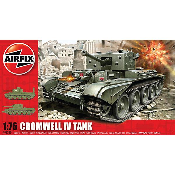 Сборная модель Airfix Танк Cromwell CruiserВоенная техника и панорама<br>Характеристики:<br><br>• возраст: от 8 лет;<br>• материал: пластик;<br>• масштаб: 1:76;<br>• количество элементов: 91;<br>• схема покраски;<br>• клей и краски: не в наборе;<br>• длина модели: 8,8 см;<br>• ширина модели: 3,9 см;<br>• вес упаковки: 121 гр..;<br>• размер упаковки: 23,2х12,5х4,3 см;<br>• страна бренда: Великобритания.<br><br>Модель для сборки Cromwell Cruiser Tank изображает одноименный британский средний крейсерский танк. Каждая деталь выполнена из качественного пластика, элементы детализированы под покраску.<br><br>В подробной инструкции описаны шаги к созданию идентичной копии танка. Конструирование модели развивает усидчивость и внимательность, повышает творческие способности и задействует пространственное мышление.<br><br>Готовая модель может стать отличным подарком близким, личным сувениром или частью коллекции сборных моделей.<br><br>Сборную модель Cromwell Cruiser Tank можно купить в нашем интернет-магазине.<br>Ширина мм: 232; Глубина мм: 125; Высота мм: 43; Вес г: 121; Возраст от месяцев: 96; Возраст до месяцев: 2147483647; Пол: Мужской; Возраст: Детский; SKU: 7490475;