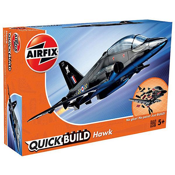 Конструктор Airfix Самолет BAE HawkСамолеты и вертолеты<br>Характеристики:<br><br>• возраст: от 5 лет;<br>• материал: пластик;<br>• количество элементов: 26 + 3 детали для стенда;<br>• размер модели: 22,1х18х6,4 см;<br>• вес упаковки: 138 гр.;<br>• размер упаковки: 23х15х5 см;<br>• страна бренда: Великобритания.<br><br>Модель-конструктор самолета серии Quickbuild от Airfix отличается от классических сборных моделей тем, что для ее создания не нужен клей и красители – все элементы уже покрыты стойкой невыцветающей краской, а детали надежно соединяются между собой по принципу конструктора. Готовую модель можно дополнить наклейками из набора и поставить на специальный пьедестал.<br><br>Сборка развивает усидчивость и внимательность, повышает творческие способности и задействует пространственное мышление. Набор подойдет даже для совсем юных моделистов. Готовая модель может стать отличным подарком близким, личным сувениром или частью коллекции.<br><br>Модель-конструктор Quickbuild BAE Hawk можно купить в нашем интернет-магазине.<br>Ширина мм: 230; Глубина мм: 150; Высота мм: 50; Вес г: 138; Возраст от месяцев: 60; Возраст до месяцев: 2147483647; Пол: Мужской; Возраст: Детский; SKU: 7490519;
