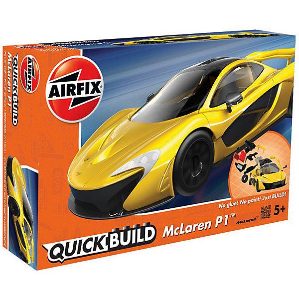 Конструктор Airfix Автомобиль McLaren P1Автомобили<br>Характеристики:<br><br>• возраст: от 5 лет;<br>• материал: пластик;<br>• количество элементов: 36;<br>• вес упаковки: 190 гр.;<br>• размер упаковки: 23х15х5 см;<br>• страна бренда: Великобритания.<br><br>Модель-конструктор автомобиля серии Quickbuild от Airfix отличается от классических сборных моделей тем, что для ее создания не нужен клей и красители – все элементы уже покрыты стойкой невыцветающей краской, а детали надежно соединяются между собой по принципу конструктора.<br><br>Сборка развивает усидчивость и внимательность, повышает творческие способности и задействует пространственное мышление. Набор подойдет даже для совсем юных моделистов. Готовая модель может стать отличным подарком близким, личным сувениром или частью коллекции.<br><br>Модель-конструктор Quickbuild McLaren P1 можно купить в нашем интернет-магазине.<br>Ширина мм: 230; Глубина мм: 150; Высота мм: 50; Вес г: 190; Возраст от месяцев: 60; Возраст до месяцев: 2147483647; Пол: Унисекс; Возраст: Детский; SKU: 7490527;