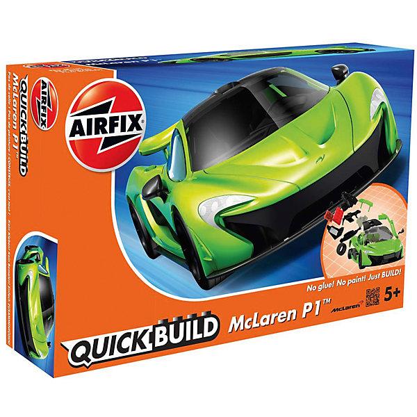 Конструктор Airfix автомобиль McLaren P1 new colourАвтомобили<br>Характеристики:<br><br>• возраст: от 5 лет;<br>• материал: пластик;<br>• количество элементов: 36;<br>• вес упаковки: 190 гр.;<br>• размер упаковки: 23х15х5 см;<br>• страна бренда: Великобритания.<br><br>Модель-конструктор автомобиля серии Quickbuild от Airfix отличается от классических сборных моделей тем, что для ее создания не нужен клей и красители – все элементы уже покрыты стойкой невыцветающей краской, а детали надежно соединяются между собой по принципу конструктора.<br><br>Сборка развивает усидчивость и внимательность, повышает творческие способности и задействует пространственное мышление. Набор подойдет даже для совсем юных моделистов. Готовая модель может стать отличным подарком близким, личным сувениром или частью коллекции.<br><br>Модель-конструктор Quickbuild McLaren P1 new colour можно купить в нашем интернет-магазине.<br>Ширина мм: 230; Глубина мм: 150; Высота мм: 50; Вес г: 190; Возраст от месяцев: 60; Возраст до месяцев: 2147483647; Пол: Унисекс; Возраст: Детский; SKU: 7490528;