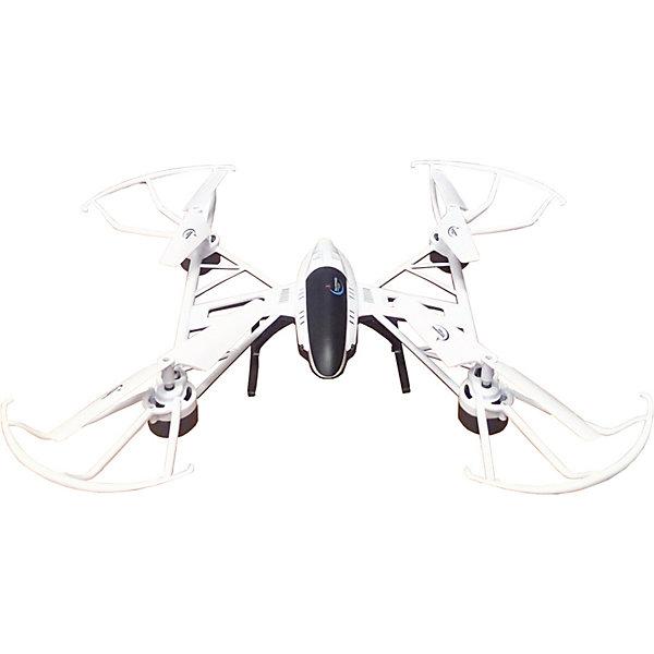 Квадрокоптер Властелин Небес «Космолёт» (белый)Квадрокоптеры<br>Характеристики:<br><br>• тип игрушки: квадракоптер;<br>• возраст: от 12 лет;<br>• размер: 33х8х49 см;<br>• вес: 930 гр;<br>• тип батареек: 3 x AA / LR6 1.5V (пальчиковые);<br>• дальность полета: 30-70 м;<br>• наличие батареек: в комплект не входят;<br>• комплект: квадрокоптер, пульт управления;<br>• материал: пластик, металл;<br>• бренд: Властелин небес;<br>• страна бренда: Россия.<br><br>Квадрокоптер р/у Властелин Небес «Космолёт», белый - это потрясающая игрушка, которая подарит своему обладателю море впечатлений и положительных эмоций во время игрового процесса. Данный летательный аппарат выполнен в футуристичном дизайне, а потому он легко притягивает к себе внимание окружающих.<br><br>Во время полета можно будет включить световые эффекты, которые сделают его перемещения в воздухе еще более эффектными и завораживающими. Контролировать движения квадрокоптера можно с помощью простого пульта управления.<br><br>Квадрокоптер р/у Властелин Небес «Космолёт», белый можно купить в нашем интернет-магазине.<br>Ширина мм: 340; Глубина мм: 80; Высота мм: 490; Вес г: 930; Возраст от месяцев: 144; Возраст до месяцев: 2147483647; Пол: Унисекс; Возраст: Детский; SKU: 7502340;