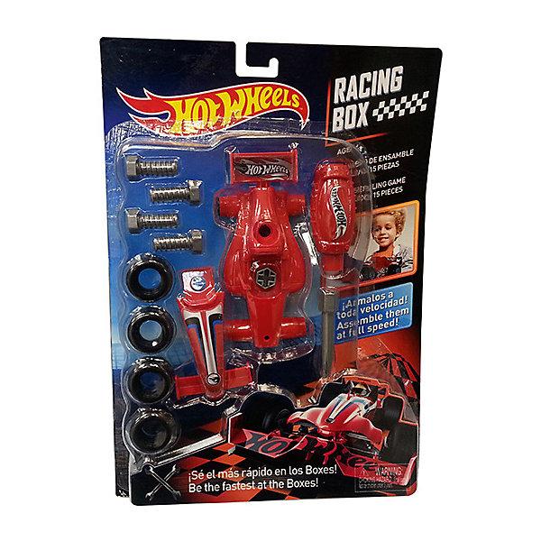 Игровой набор Corpa Hot Wheels Юный механик (блистер)Наборы инструментов<br>Характеристики товара:<br><br>• возраст: от 6 лет;<br>• материал: пластик;<br>• в комплекте: 4 болта, 4 шины, 2 детали корпуса, отвертка;<br>• размер упаковки: 38х27х5 см;<br>• вес упаковки: 297 гр.;<br>• страна производитель: Китай.<br><br>Набор юного механика Hot Wheels на блистере позволит мальчишкам попробовать себя в роди автомехаников и познакомиться с устройством автомобиля. Из деталей, входящих в набор, ребенок сможет самостоятельно собрать гоночную машинку. Готовая машинка сможет стать отличной игрушкой.<br><br>Набор юного механика Hot Wheels на блистере можно приобрести в нашем интернет-магазине.<br>Ширина мм: 270; Глубина мм: 50; Высота мм: 380; Вес г: 297; Возраст от месяцев: 36; Возраст до месяцев: 2147483647; Пол: Мужской; Возраст: Детский; SKU: 7505617;
