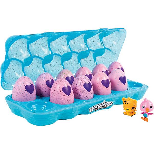 Коллекционные фигурки Spin Master Hatchimals в голубой коробке, 12 штукКоллекционные фигурки<br>Характеристики:<br><br>• возраст: 5+;<br>• материал: пластик;<br>• в комплекте: 12 шт.;<br>• размер игрушки: 3,5 см;<br>• упаковка: пластиковый бокс;<br>• габариты упаковки: 6х10х23 см.<br><br>Игрушки Hatchimals – замечательный подарок для детей. Оригинальные игрушки-сюрпризы приведут в восторг мальчиков и девочек. В большой набор входят 12 коллекционных мини-фигурок в яйце. <br><br>Для того, чтобы питомец появился, нужно согреть яйцо в руках и потереть. Постепенно сердечко на яйце изменит цвет. Скорлупа станет мягче и легко сломается, малыш появится на свет.<br><br>Какой именно питомец попадется, до последнего момента остается загадкой. Фигурки отлично детализированы: у игрушек четко прорисованы глазки, носики, ротики. <br><br>Размер яйца - 4,2 см. Двенадцать яиц упакованы в красивую коробочку с ячейками.<br><br>Коллекционные фигурки «Hatchimals» (в голубой коробке, 12 штук), Spin Master можно приобрести в нашем интернет-магазине.<br>Ширина мм: 235; Глубина мм: 98; Высота мм: 58; Вес г: 350; Возраст от месяцев: 60; Возраст до месяцев: 108; Пол: Унисекс; Возраст: Детский; SKU: 7517953;