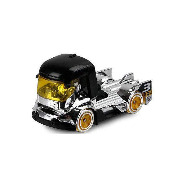 Машинка Hot Wheels из базовой коллекции, Hot WheelsМашинки<br>Характеристики:<br><br>• возраст: от 3 лет;<br>• материал: металл, пластмасса;<br>• вес упаковки: 30 гр.;<br>• размер упаковки: 11х4х11 см;<br>• тип упаковки: блистерный;<br>• страна бренда: США.<br><br>Машинка Hot Wheels от Mattel входит в группу моделей базовой коллекции. Миниатюры этой серии изображают реальные автомобили, спорткары, фургоны, мотоциклы в масштабе 1:64, а также модели с собственным оригинальным дизайном. Собрав свою линейку машинок, ребенок сможет устраивать заезды, гонки и меняться экземплярами с друзьями.<br><br>Монолитные элементы игрушки увеличивают ее прочность. Падение и столкновение с твердыми предметами во время игр не отражается на внешнем виде и ходе машинки. Кузов отчетливо детализирован, покрыт стойкими насыщенными красками. Колеса легко вращаются вокруг своей оси.<br><br>Игрушка выполнена из качественных материалов, сертифицированных по стандартам безопасности для использования детьми.<br><br>Машинку Hot Wheels из базовой коллекции можно купить в нашем интернет-магазине.<br>Ширина мм: 110; Глубина мм: 45; Высота мм: 110; Вес г: 30; Возраст от месяцев: 36; Возраст до месяцев: 96; Пол: Мужской; Возраст: Детский; SKU: 7522202;