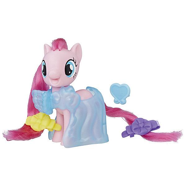 Игровой набор Hasbro My little Pony Пони-модницы, Пинки ПайФигурки из мультфильмов<br>Характеристики товара:<br><br>• возраст: от 3 лет;<br>• материал: пластик;<br>• в комплекте: фигурка пони, 3 аксессуара;<br>• высота фигурки: 8 см;<br>• размер упаковки: 18,4х17,8х4,8 см;<br>• вес упаковки: 145 гр.;<br>• страна производитель: Китай.<br><br>Игровой набор Hasbro My Little Pony «Пони-модницы» создан по мотивам известного мультсериала «Мой маленький пони» про очаровательных разноцветных пони. В наборе представлена фигурка персонажа, у которой роскошные мягкие грива и хвост. Дополнительные аксессуары позволят создать для пони невероятный образ.<br><br>Игровой набор Hasbro My Little Pony «Пони-модницы» можно приобрести в нашем интернет-магазине.<br>Ширина мм: 48; Глубина мм: 178; Высота мм: 184; Вес г: 145; Возраст от месяцев: 36; Возраст до месяцев: 2147483647; Пол: Женский; Возраст: Детский; SKU: 7522231;