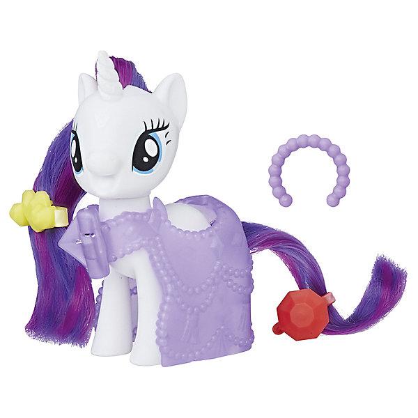 Игровой набор Hasbro My little Pony Пони-модницы, РаритиФигурки из мультфильмов<br>Характеристики товара:<br><br>• возраст: от 3 лет;<br>• материал: пластик;<br>• в комплекте: фигурка пони, 3 аксессуара;<br>• высота фигурки: 8 см;<br>• размер упаковки: 18,4х17,8х4,8 см;<br>• вес упаковки: 145 гр.;<br>• страна производитель: Китай.<br><br>Игровой набор Hasbro My Little Pony «Пони-модницы» создан по мотивам известного мультсериала «Мой маленький пони» про очаровательных разноцветных пони. В наборе представлена фигурка персонажа, у которой роскошные мягкие грива и хвост. Дополнительные аксессуары позволят создать для пони невероятный образ.<br><br>Игровой набор Hasbro My Little Pony «Пони-модницы» можно приобрести в нашем интернет-магазине.<br>Ширина мм: 48; Глубина мм: 178; Высота мм: 184; Вес г: 145; Возраст от месяцев: 36; Возраст до месяцев: 2147483647; Пол: Женский; Возраст: Детский; SKU: 7522232;