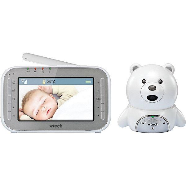 Видеоняня BM4200 VtechВидеоняни<br>Характеристики:<br>• цифровая видеоняня;<br>• диагональ дисплея 4,3 дюйма (11 см);<br>• дистанционное управление;<br>• дальность действия: 300 м;<br>• защищенное соединение;<br>• регулируемый наклон детского блока камеры;<br>• ночное видение;<br>• датчик температур;<br>• колыбельные мелодии;<br>• 20 кадров в секунду;<br>• детский блок можно прикрепить на стену;<br>• родительский блок с двусторонней связью;<br>• возможность поговорить с ребенком;<br>• светодиодные индикаторы уровня звука;<br>• перезаряжаемый аккумулятор;<br>• размер упаковки: 23х23х105 см;<br>• вес: 750 г.<br>Комплектация:<br>• камера;<br>• монитор;<br>• сетевые адаптеры питания;<br>• аккумулятор для монитора;<br>• комплект крепления;<br>• руководство пользователя.<br>Видеоняня обеспечивает видео- и аудио- связь с ребенком. Камера устанавливается в детской, а родительский блок-монитор находится у родителей. С помощью видеоняни родители контролируют состояние малыша, при недостаточном освещении срабатывает режим ночного видения, автоматический запуск. Двусторонняя связь обеспечивает голосовое сопровождение, когда родители могут обратиться к малышу дистанционно. Аккумуляторы родительского блока можно заряжать.<br>Видеоняня BM4200 Vtech можно купить в нашем интернет-магазине.<br>Ширина мм: 100; Глубина мм: 230; Высота мм: 230; Вес г: 750; Возраст от месяцев: -2147483648; Возраст до месяцев: 2147483647; Пол: Унисекс; Возраст: Детский; SKU: 7534679;