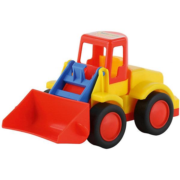 Погрузчик Полесье Базик с красным ковшом, в сеткеМашинки<br>Характеристики:<br><br>• игрушечный погрузчик с подвижными элементами;<br>• ковш поднимается и опускается;<br>• широкие колеса легко перекатываются по ровной поверхности;<br>• в кабину можно посадить водителя;<br>• материал: пластик;<br>• размер упаковки: 22х11,5х11 см;<br>• упаковка: сеточка.<br><br>Игрушечный погрузчик «Базик» с функциональным ковшом используется мальчишками на стройке, на ферме, в песочнице. Ковш поднимется и опускается, можно перевозить и пересыпать песок, щебень, мелкие элементы блочного конструктора. В процессе игры развивается фантазия, координация движений, пространственное восприятие.<br><br>Погрузчик «Базик» Полесье, красный можно купить в нашем интернет-магазине.<br>Ширина мм: 222; Глубина мм: 115; Высота мм: 112; Вес г: 223; Цвет: красный; Возраст от месяцев: 36; Возраст до месяцев: 2147483647; Пол: Мужской; Возраст: Детский; SKU: 7534713;